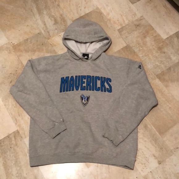 cheap for discount 39184 20992 Adidas Dallas Mavericks Hooded Sweatshirt UNISEX